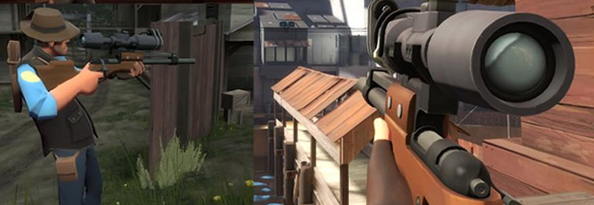 Team Fortress 2 Sniper Rifle Mod: The Professional Standard