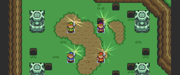 The Legend of Zelda: Four Swords Adventures - Feature