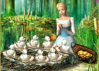 Barbie of Swan Lake: The Enchanted Forest Image