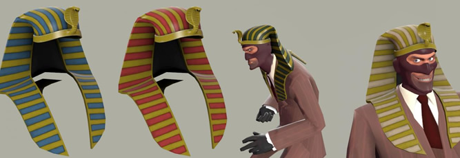 Team Fortress 2: Fancy Pharaoh Hat Mod