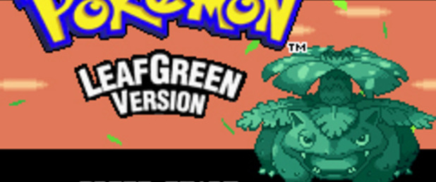 Pokemon FireRed/LeafGreen - Feature