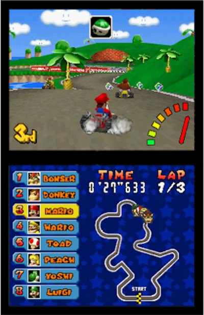 Mario Kart DS Screenshot - 924383