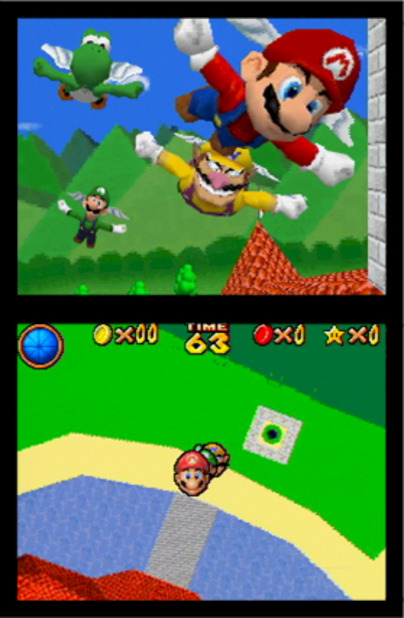 Super Mario 64 DS Screenshot - 925646