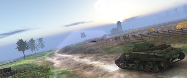 WWII Tank Commander - Feature