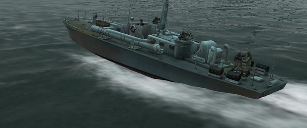 PT Boats: Knights of the Sea - Feature