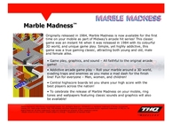 Marble Madness Image