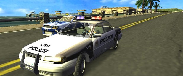 Pursuit Force - Feature