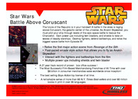 Star Wars: Battle Above Coruscant Image