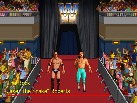WWE Wrestlefest, The Rock