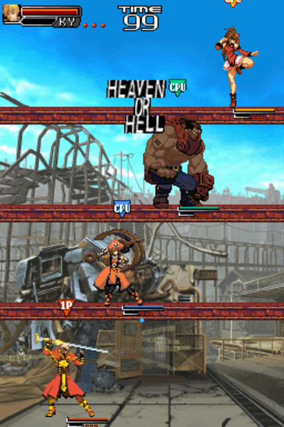 Guilty Gear Dust Strikers Screenshot - 942554