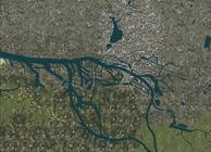 Roads and Rivers Of Europe Image