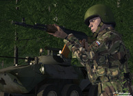 Military sim (working title) Image