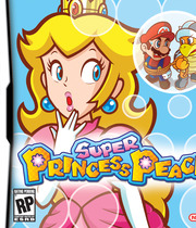 Super Princess Peach Boxart