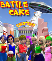 Battle Cake X-mas Boxart