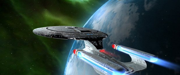 Star Trek: Legacy - Feature