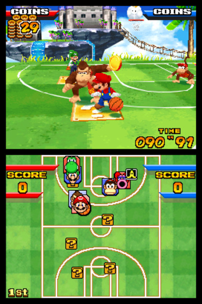 Mario Hoops 3-on-3 Screenshot - 961841