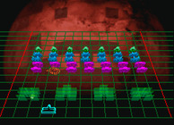 3D Space Invaders Image