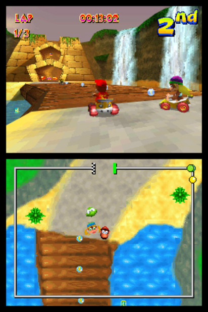 Diddy Kong Racing DS Screenshot - 963023