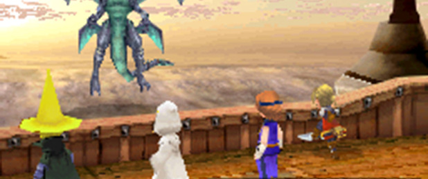 Final Fantasy III - Feature