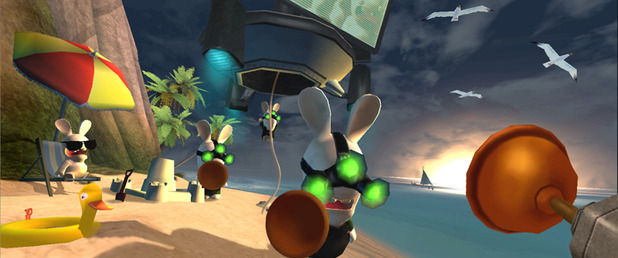 Rayman Raving Rabbids - Feature