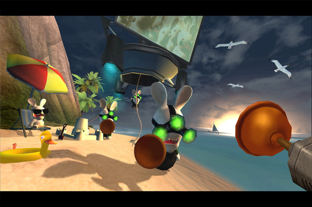 Rayman Raving Rabbids Screenshot - 966322
