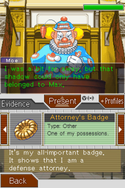 Phoenix Wright: Ace Attorney Justice For All Screenshot - 968388