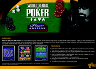 World Series of Poker Player Advisor Image