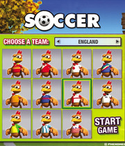 Crazy Chicken Soccer Boxart