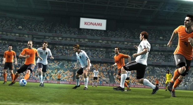 Pro Evolution Soccer 2012 3D Image
