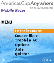 America's Cup Mobile Racer Boxart