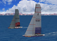 America's Cup Mobile Racer Image