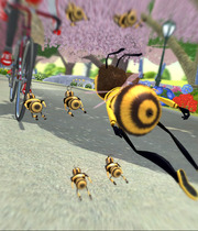 Bee Movie Game Boxart