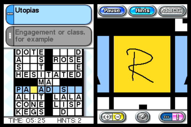 Crosswords DS Screenshot - 984284