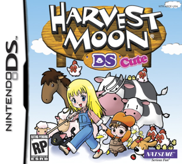 Harvest Moon DS Cute Packshot - 984482