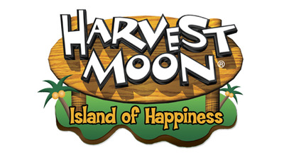Harvest Moon: Island of Happiness Logo - 984493