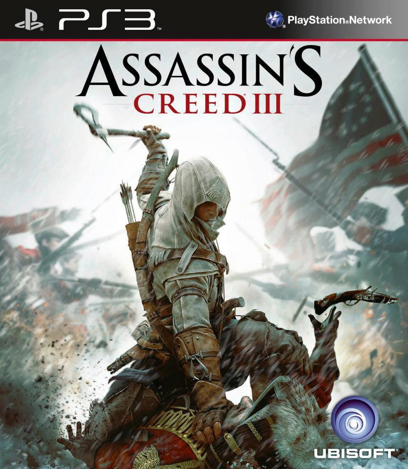 Assassin's Creed III Box Art - PS3