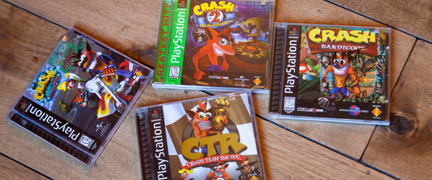 Crash Bandicoot - Feature