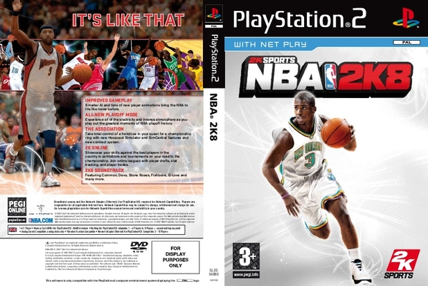 NBA 2K8 Packshot - 990991