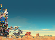 Lucky Luke Go West Image