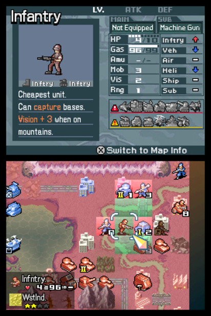 Advance Wars: Days of Ruin Screenshot - 991267