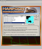 Harpoon - Commander's Edition Boxart