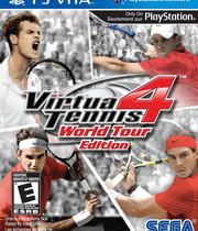 Virtua Tennis 4: World Tour Boxart