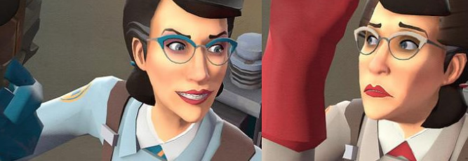Team Fortress 2: Female Medic Skin