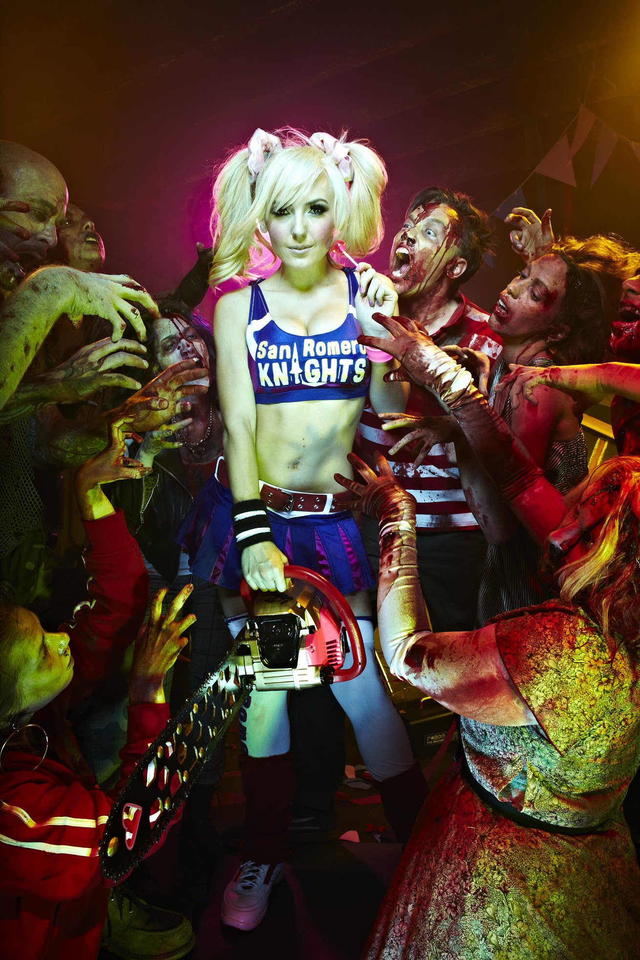 Lollipop Chainsaw: Jessica Nigri as Juliet Starling