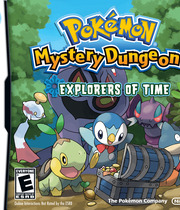 Pokémon Mystery Dungeon: Explorers of Time Boxart