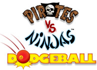 Pirates vs. Ninjas Dodgeball Image