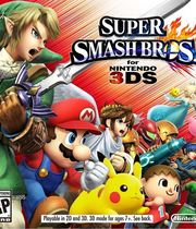 Super Smash Bros. for 3DS / Wii U Boxart