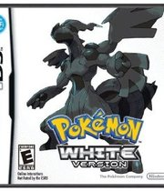 Pokemon White Version - NDS Boxart