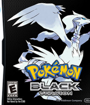 Pokemon Black Version - NDS Boxart