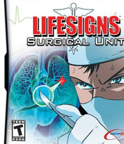 Lifesigns: Surgical Unit - NDS Boxart